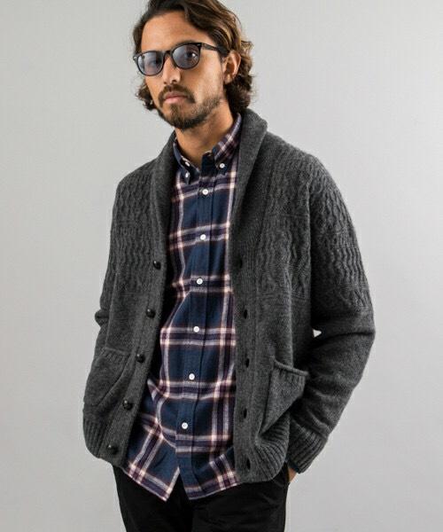 チェックシャツ10